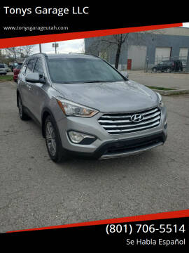 2015 Hyundai Santa Fe for sale at Tonys Garage LLC in Murray UT