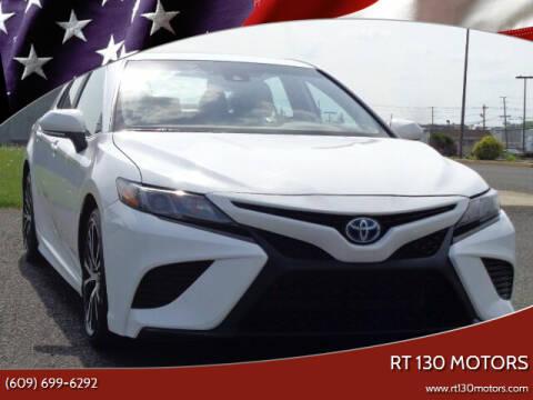 2019 Toyota Camry Hybrid for sale at RT 130 Motors in Burlington NJ