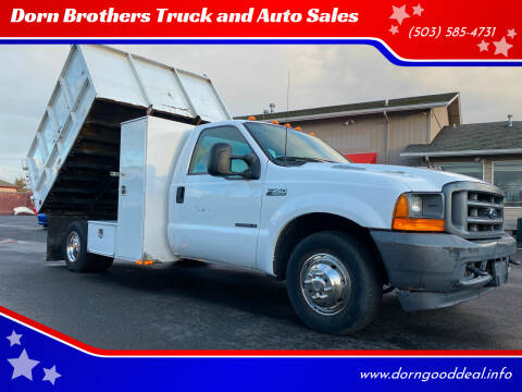 2001 Ford F-350 Super Duty for sale at Dorn Brothers Truck and Auto Sales in Salem OR