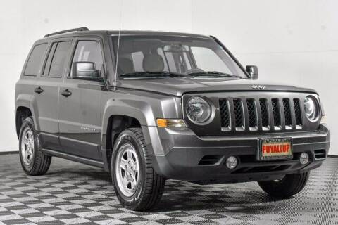 2017 Jeep Patriot for sale at Chevrolet Buick GMC of Puyallup in Puyallup WA