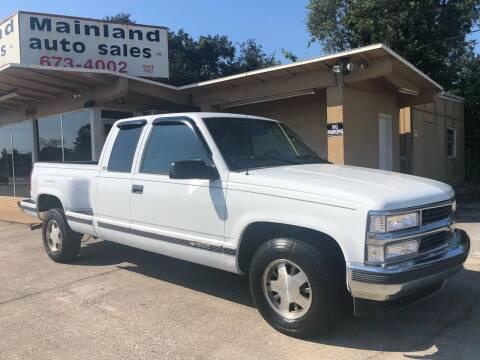 1997 Chevrolet C/K 1500 Series for sale at Mainland Auto Sales Inc in Daytona Beach FL