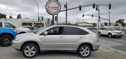 2004 Lexus RX 330 for sale at San Mateo Auto Sales in San Mateo CA