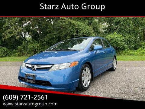 2008 Honda Civic for sale at Starz Auto Group in Delran NJ