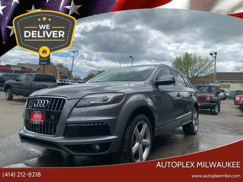 2014 Audi Q7 for sale at Autoplex 3 in Milwaukee WI