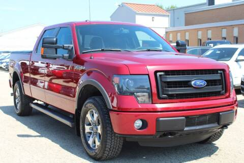 2014 Ford F-150 for sale at SHAFER AUTO GROUP in Columbus OH