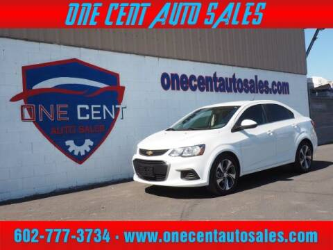 2017 Chevrolet Sonic for sale at One Cent Auto Sales in Glendale AZ
