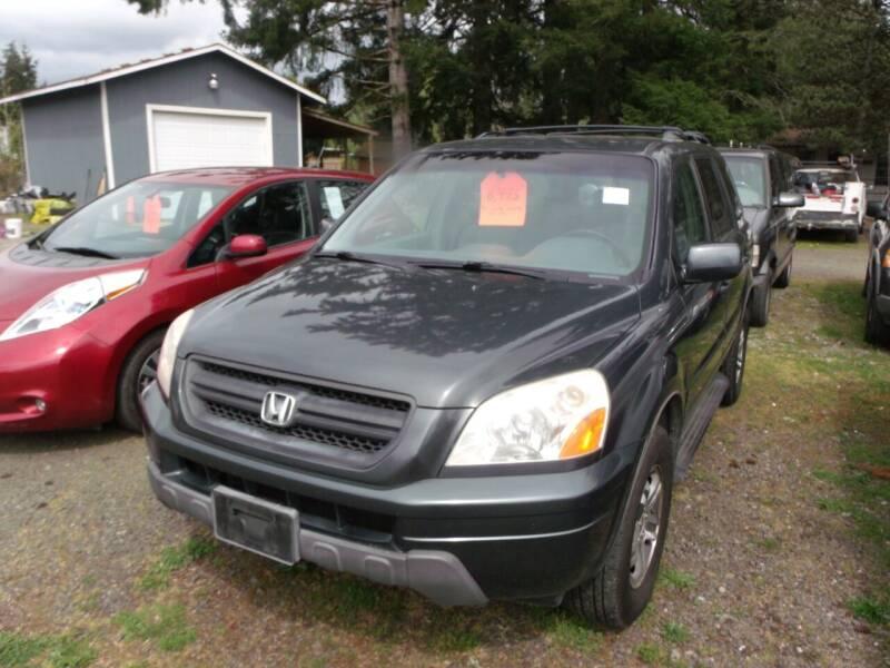 2003 Honda Pilot for sale at Sun Auto RV and Marine Sales in Shelton WA
