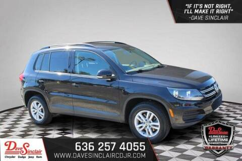 2015 Volkswagen Tiguan for sale at Dave Sinclair Chrysler Dodge Jeep Ram in Pacific MO