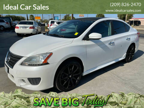 2013 Nissan Sentra for sale at Ideal Car Sales in Los Banos CA
