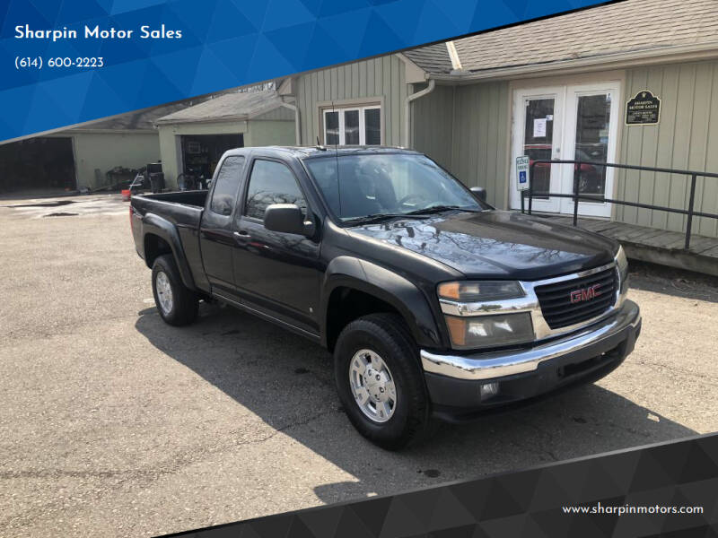2008 GMC Canyon for sale at Sharpin Motor Sales in Columbus OH