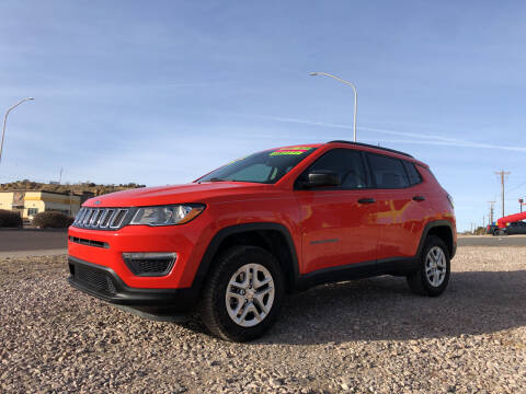 2018 Jeep Compass for sale at 1st Quality Motors LLC in Gallup NM