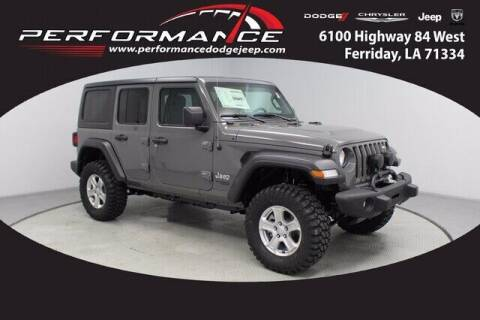2021 Jeep Wrangler Unlimited for sale at Auto Group South - Performance Dodge Chrysler Jeep in Ferriday LA