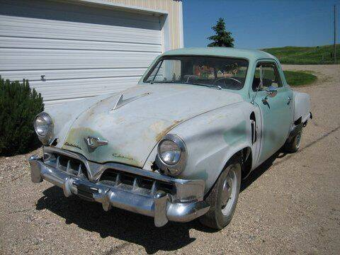 1952 Studebaker Starlight for sale at Classic Car Deals in Cadillac MI