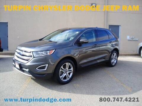 2018 Ford Edge for sale at Turpin Dodge Chrysler Jeep Ram in Dubuque IA