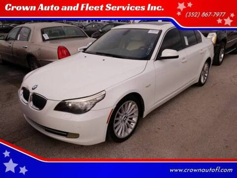 2010 BMW 5 Series for sale at Crown Auto and Fleet Services Inc. in Ocala FL
