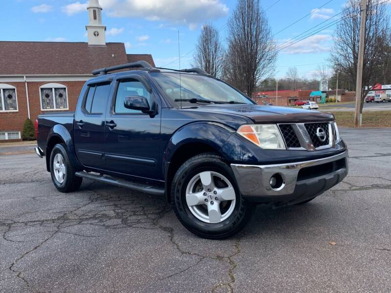 2006 Nissan Frontier for sale at Mike's Wholesale Cars in Newton NC