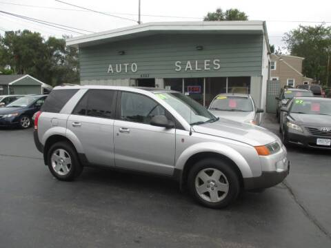 2004 Saturn Vue for sale at SHEFFIELD MOTORS INC in Kenosha WI