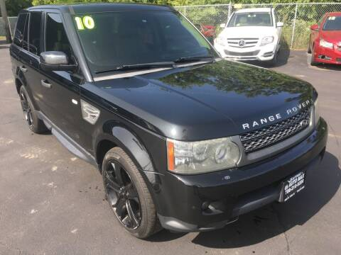 2010 Land Rover Range Rover Sport for sale at ROUTE 6 AUTOMAX in Markham IL