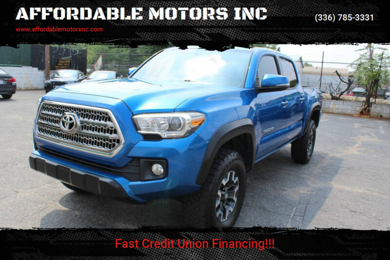 2016 Toyota Tacoma for sale at AFFORDABLE MOTORS INC in Winston Salem NC