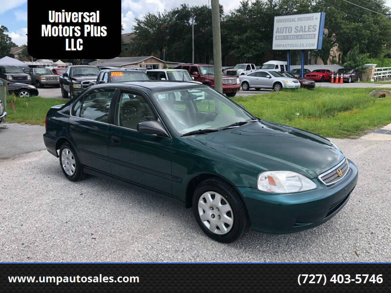 2000 Honda Civic for sale at Universal Motors Plus LLC in Largo FL