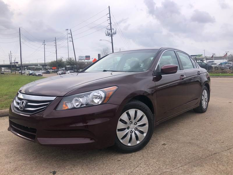 2012 Honda Accord for sale at TWIN CITY MOTORS in Houston TX