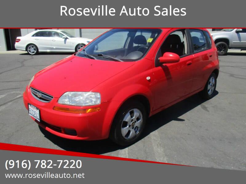 2006 Chevrolet Aveo for sale in Roseville, CA