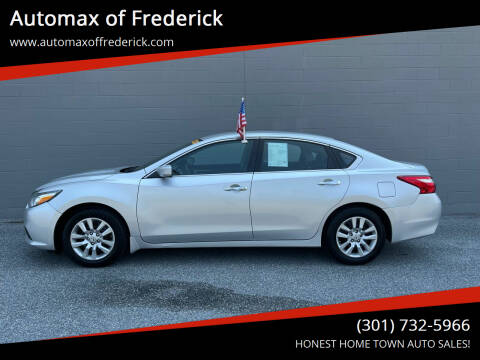 2016 Nissan Altima for sale at Automax of Frederick in Frederick MD
