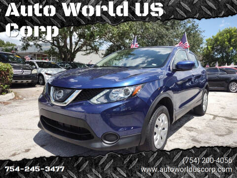 2018 Nissan Rogue Sport for sale at Auto World US Corp in Plantation FL