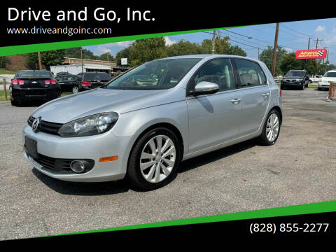 2012 Volkswagen Golf for sale at Drive and Go, Inc. in Hickory NC