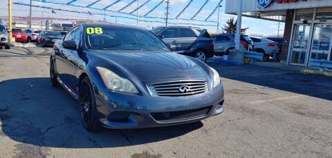 2008 Infiniti G37 for sale at I-80 Auto Sales in Hazel Crest IL