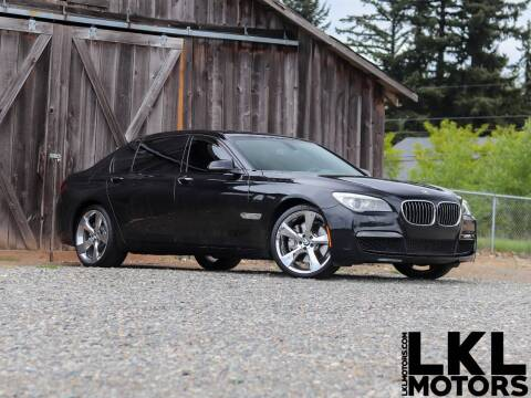 2014 BMW 7 Series for sale at LKL Motors in Puyallup WA