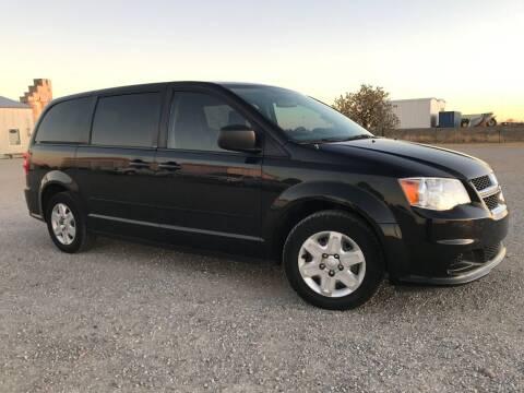 2012 Dodge Grand Caravan for sale at Double TT Auto in Montezuma KS