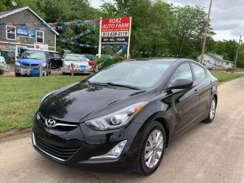 2015 Hyundai Elantra for sale at Korz Auto Farm in Kansas City KS