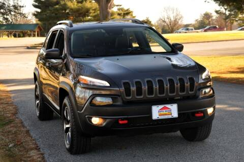 2017 Jeep Cherokee for sale at Auto House Superstore in Terre Haute IN