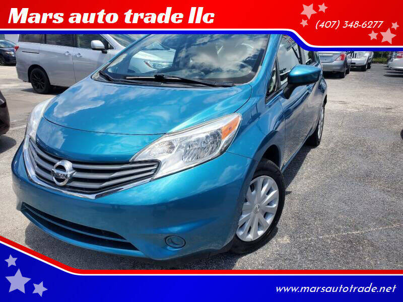 2015 Nissan Versa Note for sale at Mars auto trade llc in Kissimmee FL