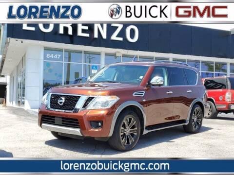 2017 Nissan Armada for sale at Lorenzo Buick GMC in Miami FL