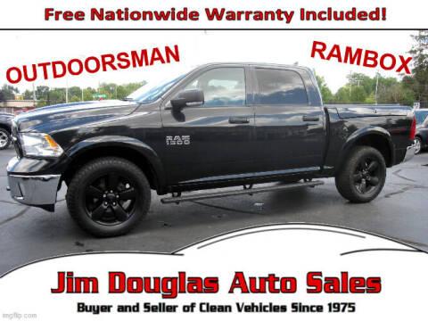 2016 RAM Ram Pickup 1500 for sale at Jim Douglas Auto Sales in Pontiac MI