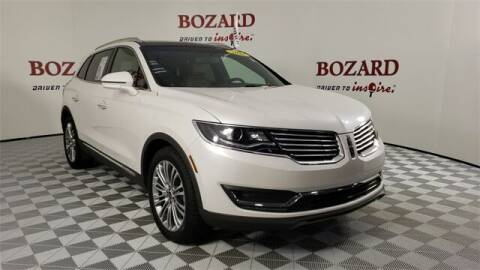 2018 Lincoln MKX for sale at BOZARD FORD in Saint Augustine FL