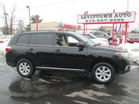 2013 Toyota Highlander for sale at Levittown Auto in Levittown PA