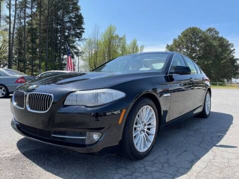 2013 BMW 5 Series for sale at Airbase Auto Sales in Cabot AR