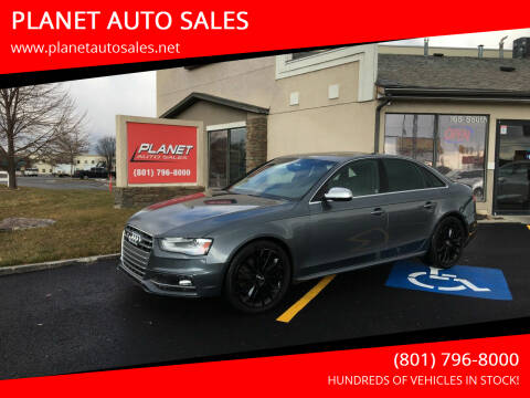 2014 Audi S4 for sale at PLANET AUTO SALES in Lindon UT