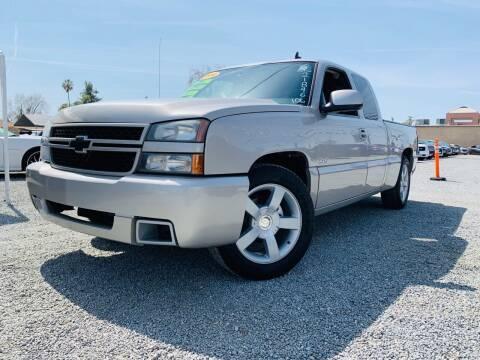 2006 Chevrolet Silverado 1500 for sale at 2955 FIRESTONE BLVD - Tulare Lot in Tulare CA