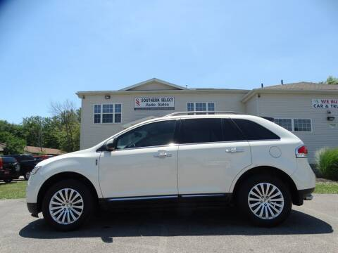 2013 Lincoln MKX for sale at SOUTHERN SELECT AUTO SALES in Medina OH