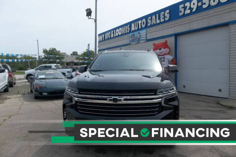 2021 Chevrolet Tahoe for sale at Highway 100 & Loomis Road Sales in Franklin WI
