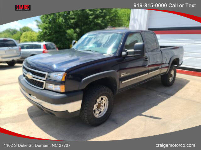 2006 Chevrolet Silverado 2500HD for sale at CRAIGE MOTOR CO in Durham NC