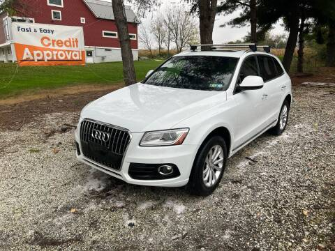 2016 Audi Q5 for sale at Caulfields Family Auto Sales in Bath PA