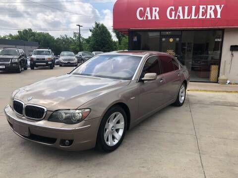 2006 BMW 7 Series for sale at Car Gallery in Oklahoma City OK