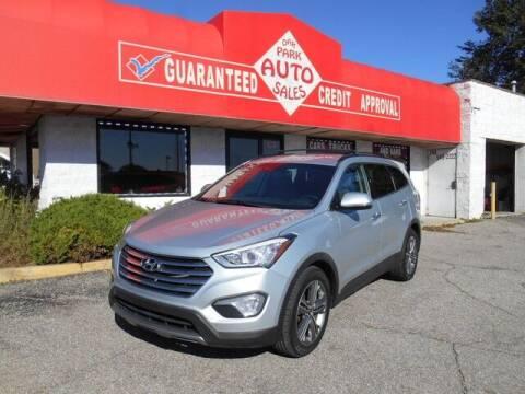 2015 Hyundai Santa Fe for sale at Oak Park Auto Sales in Oak Park MI