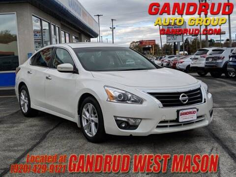2015 Nissan Altima for sale at GANDRUD CHEVROLET in Green Bay WI