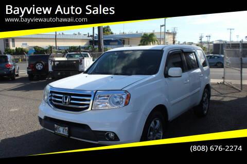 2014 Honda Pilot for sale at Bayview Auto Sales in Waipahu HI